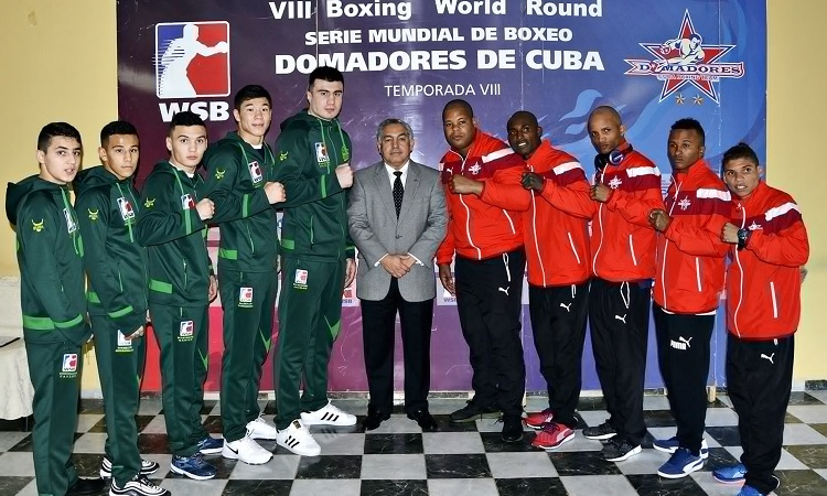 Uzbek Tigers to face Cuba Domadores at the World Series of Boxing