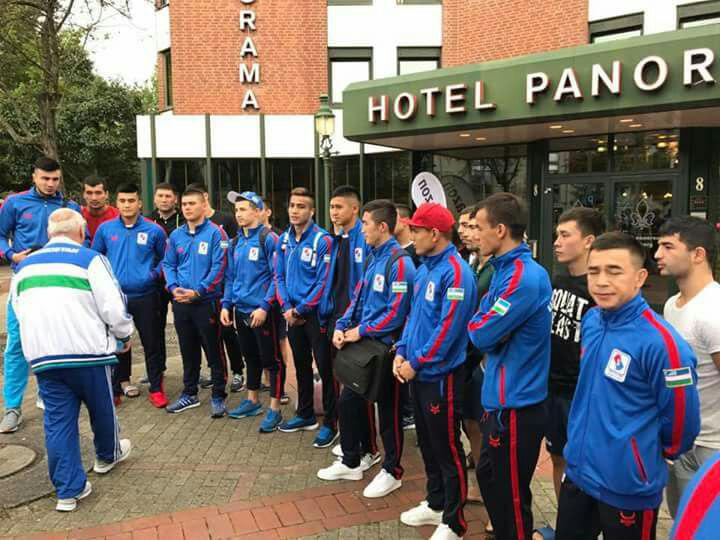 Uzbek boxers are aiming for gold medals in the Hamburg 2017 AIBA World Boxing Championships